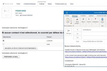 Dolibarr communique avec Outlook! Gain de temps garanti.